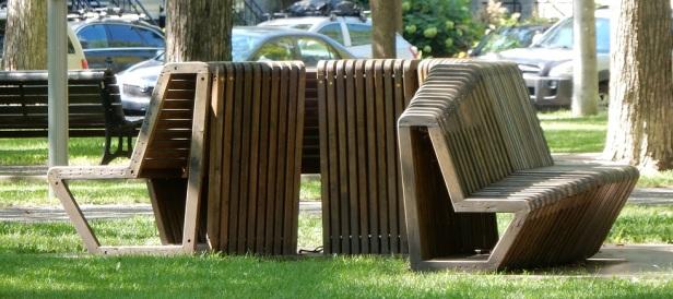 3 Banc public Montréal Parc Molson