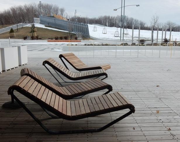 4 Banc public Montréal Parc Jean-Drapeau