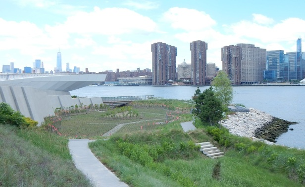 01 Bords de l'eau à New York rétension