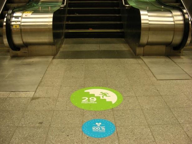 02 Exerciseurs Montréal STM Escaliers