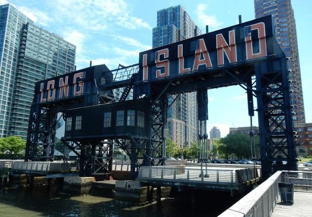 04 Bords de l'eau à New York portiques