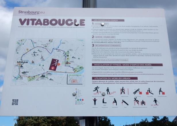 10 Strasbourg circuit exerciseur