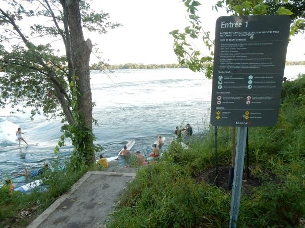 Vague à Guy LaSalle Montréal Surf (2)