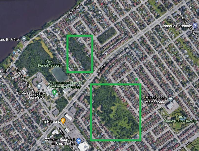 Boisés Rivière-des-Prairies Montréal