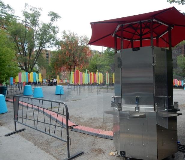 Fontaines à boires Quartier Chinois